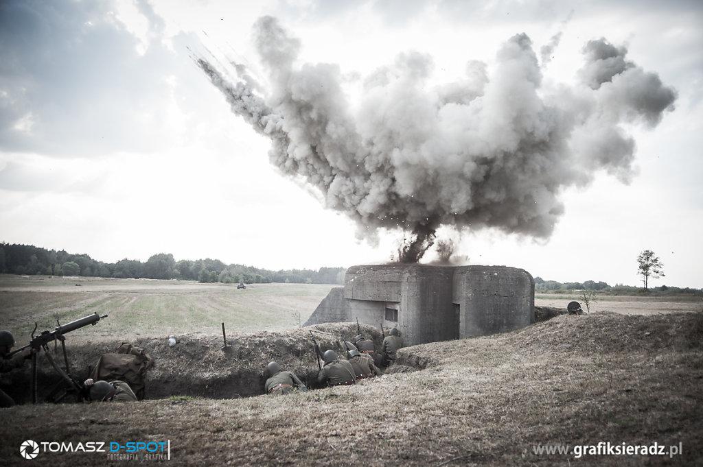 Inscenizacja walk w Beleniu 3.09.2016