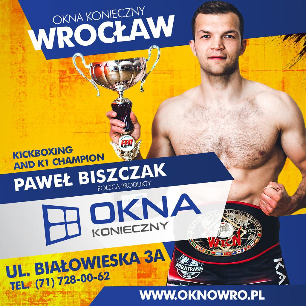 Okna Konieczny - Paweł Biszczak